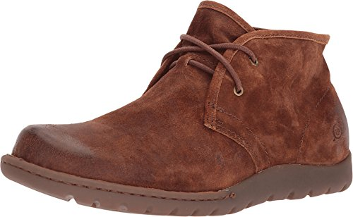 Born Nigel Chukka Rust Distressed Men's Lace-up (Born Mens Boots)