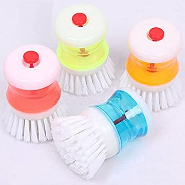 VIPASNAM-Kitchen Wash Tool Pot Pan Dish Bowl Cleaning Brush Scrubber Cleaner Gadget 0U