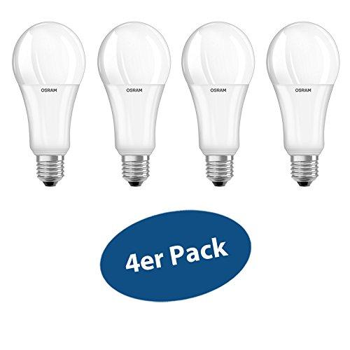 Osram Led Lampe E27 21 W Ersetzt 150 W 2500 Lumens Warm White