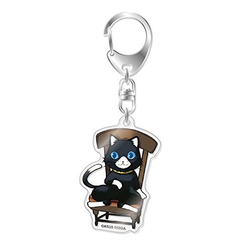 Chara heh orumu persona 5 Morgana B acrylic key holder collection 10 by Ikura (Icrea)