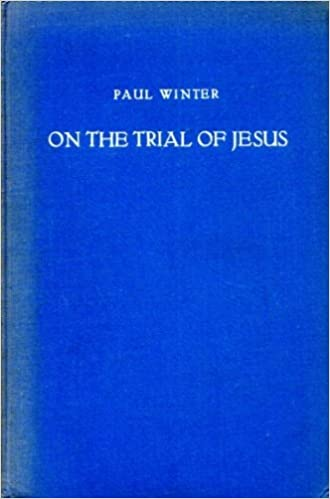 On the Trial of Jesus