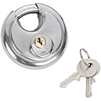 Fort Knox 77026 70 mm RVS Discus Lock, Zilver