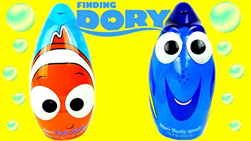 Finding Nemo Wash (Mzb Finding Dory 3n1 Bdy Size 14z Mzb Finding Dory 3n1 Body Wash Decanter 14z)