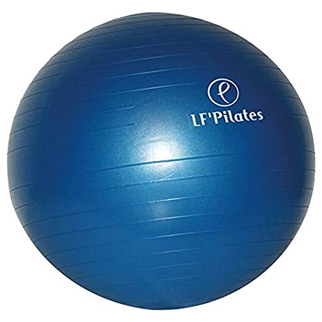 Pilates - Balón para gimnasia suave (65 cm), color azul: Amazon.es ...