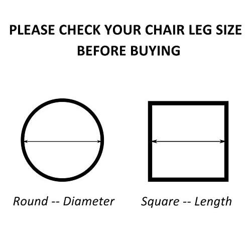 Wondrous 80 Off Limbridge Large Chair Leg Feet Wood Floor Protectors Squirreltailoven Fun Painted Chair Ideas Images Squirreltailovenorg