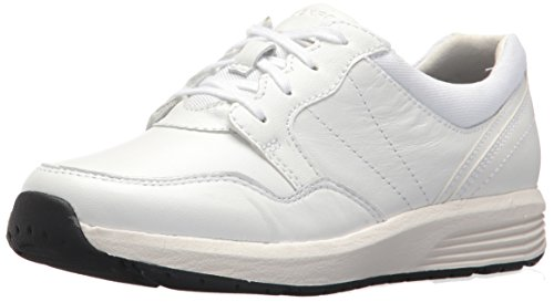Rockport Womens Trustride W Tie Fashion Sneaker Bianco