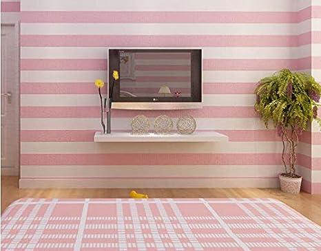Amazon.com: Cozy Fashion 3D Modern Striped Wallpaper For Walls Childrenu0027s Rooms  Bedroom Living Room Sofa TV Background Home Wall Paper Rolls 200cm140cm ...