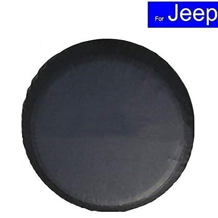 AERZETIX Funda de rueda de repuesto Negra para auto coche vehiculos 4x4 caravana camping car