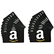 Buy a pack of 20 Amazon.co.uk Gift Cards
