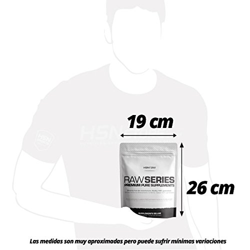HSN Raw Citrulina Malato en Polvo - Sin Sabor - 500 gr: Amazon.es: Salud y cuidado personal