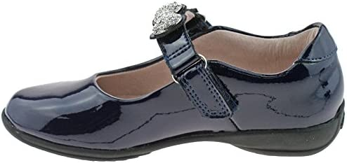 Lelli Kelly LK8304 (DE01) Mandy Navy Blue Patent School Shoes F Width -25 (UK 7)