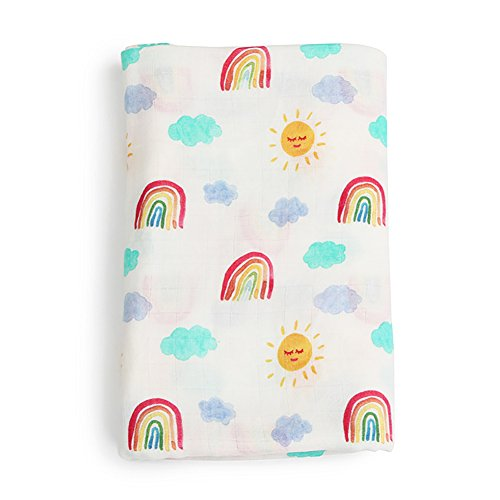 Jiquan Baby Muslin Swaddle Blankets for Boys and