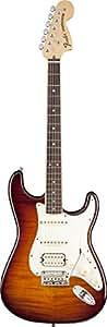 Fender Select Stratocaster HSS, Rosewood Fingerboard, Tobacco Sunburst