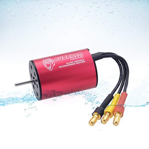 SURPASS KK Series 2430 8200KV Waterproof Brushless Motor for 1/18 1/16 RC Car