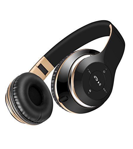 Sound Intone BT-09 Bluetooth Headphones Wireless Stereo Headsets earbuds with Earphone Hands-Free Calling with Mic for iPhone Samsung PC All Bluetooth-Enabled Devices