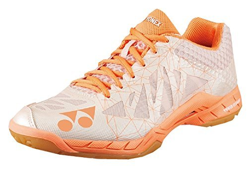 Yonex Aerus 2 Women's Indoor Court Shoe Orange (8) by Yonex (Image #1)