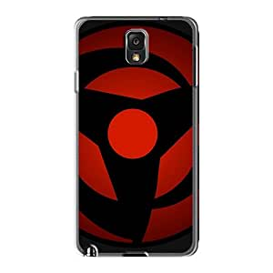 Samsung Galaxy Note 3 Rgs9410JTMx Support Personal Customs Attractive Vector Naruto Shippuden Sharingan Series Protective Hard Cell-phone Case -TraciCheung