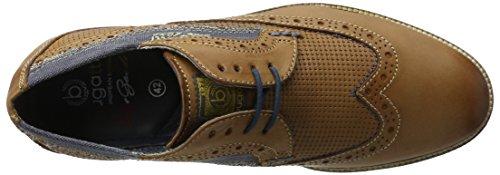 6300 Cognac 311256011000 Marrone Scarpe Bugatti Stringate Uomo wzRPRqC
