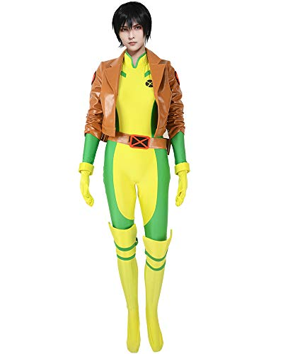 miccostumes Women's Rogue Cosplay Costume (WXL) Brown