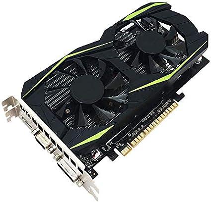 4 GB, GDDR5, 128 bits, HDMI, DVI, VGA, Compatible con DirectX12 RONSHIN Tarjeta gr/áfica de sobremesa NVIDIA GTX970