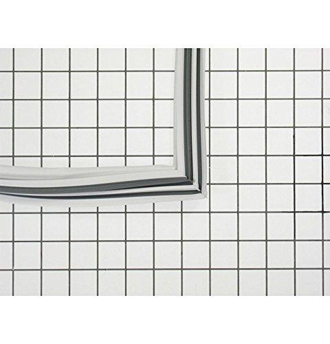 Ge WR24X450 Refrigerator Door Gasket (White) Genuine Original Equipment Manufacturer (OEM) Part White ()