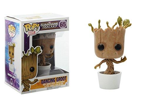 Funko POP! Marvel: Dancing Groot Bobble Action Figure from Funko
