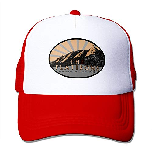 MAICHAOSHIZI The Flatirons, Chautauqua Park, Boulder Colorado Men&Women Hiking - Flat Ghb Iron