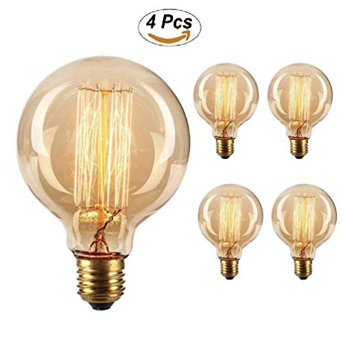 G95-G30 Vintage Large Edison Bulb 60W Incandescent for sale  Delivered anywhere in USA