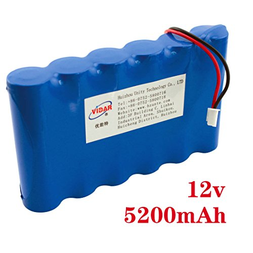 High Capacity 12V 5200Mah Rechargeable Battery Packs Power Bank For Toys Cameras Game Players