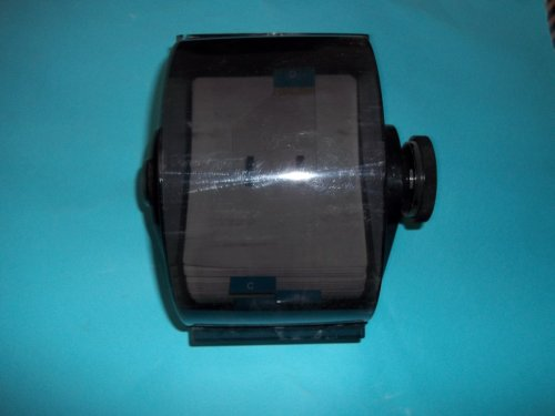 - Rolodex DRF-35C 500 Card Diplomat Covered Rotary File With 500 Cards 3