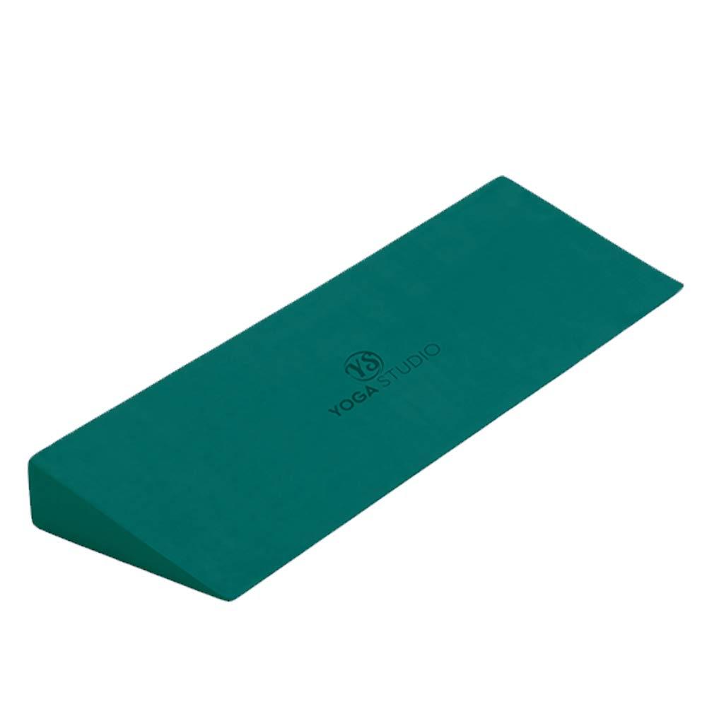 Yoga Studio Yoga Cuña - Verde Azulado, 50 x 15 x 5 cm, Antideslizante EVA cuña para Iyengar Yoga, Accesorio de Ejercicio Ligero