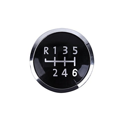 Surepromise 6 Speed Gear Knob Emblem Badge Cover Cap for sale  Delivered anywhere in USA