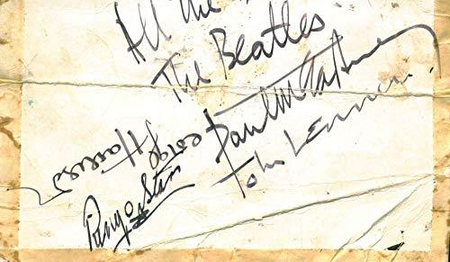 The Beatles Signed Autographed McCartney Lennon Starr Harrison Beckett/BAS