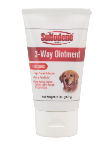 Sulfodene Brand 3-Way Ointment for Dogs, 2 ounces, My Pet Supplies