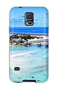 Forever Collectibles Bora Bora Hard Snap On Galaxy S5 Case