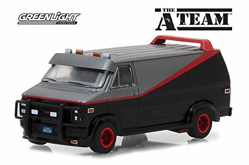 1983 GMC Vandura, The A-Team - Greenlight 44790B - 1/64 Scale Diecast Model Toy Car
