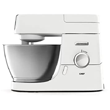 Kenwood KVC3100W 1000W 4.6L Blanco - Robot de cocina (4,6 L, Blanco, Acero inoxidable, Metal, 1000 W, 380 mm): Amazon.es: Hogar