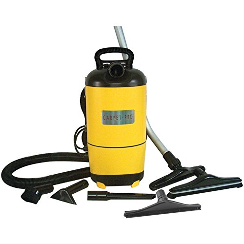 (Carpet Pro SCBP-1 Commercial Backpack Vacuum - Corded)