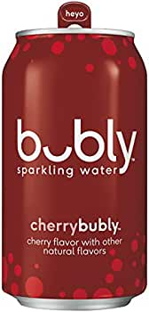 18 Ct Bubly Sparkling Water Sampler 12 Ounce Cans