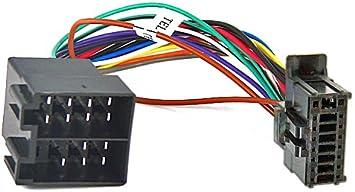 ADAPTATEUR FAISCEAU CABLE ISO AUTORADIO POUR PIONEER DEH-2200UBB 2220UB