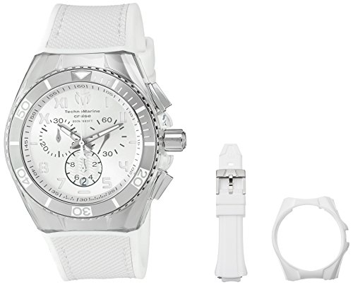 Technomarine Men s Cruise California Swiss Quartz Stainless Steel Casual Watch Model TM-115009
