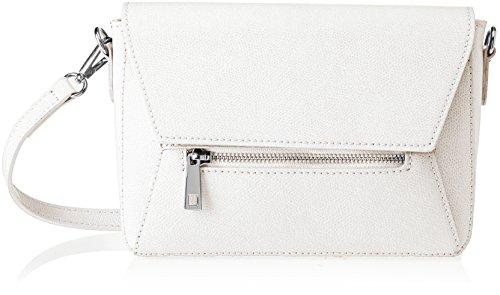 Chicca Borse 1522 - Bolso de hombro Mujer Blanco (White White)