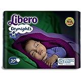 Libero Drynights Medium Size Diaper (20 counts)