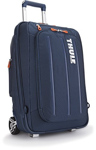 Thule Crossover 38-Litre Rolling Carry-On Suit Case (Dark Blue)