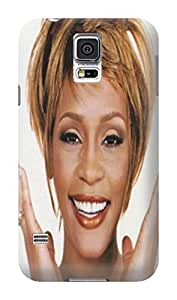 Charming design tpu skin back case cover with lovely pattern for Samsung Galaxy s5 of Whitney Houston in Fashion E-Mall