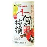 JAアオレン 旬の林檎密閉搾りりんごジュース 195g 缶 30本入 1ケース
