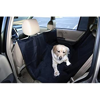 outward hound kyjen oh00679 back seat hammock dog auto travel back seat pet hammock easy  amazon     zone tech classic black heavy duty auto pet hammock      rh   amazon