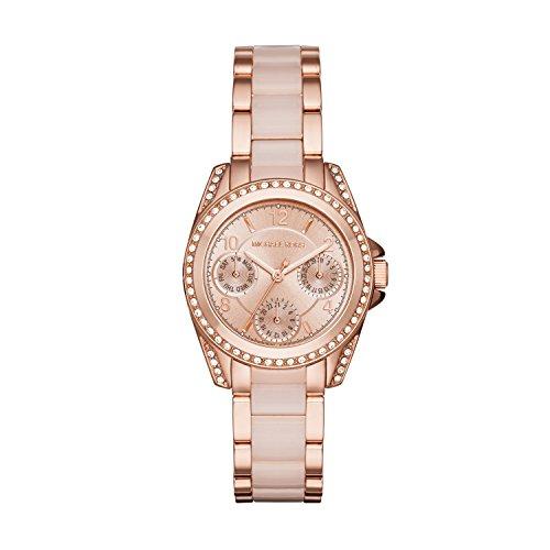 Michael Kors Women's Mini Blair Rose Gold-Tone Watch MK6175