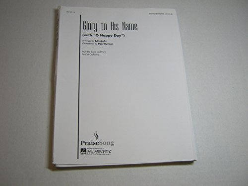 O Happy Day Sheet Music (Glory to His Name with