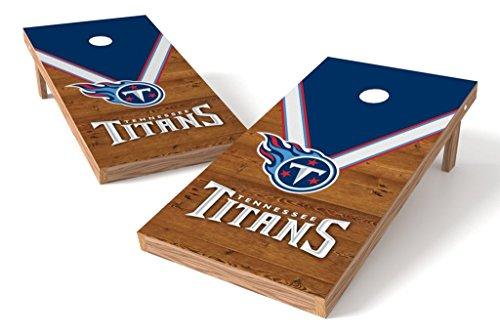 (PROLINE NFL 2'x4' Cornhole Board Set - Uniform Design, Tennessee Titans )